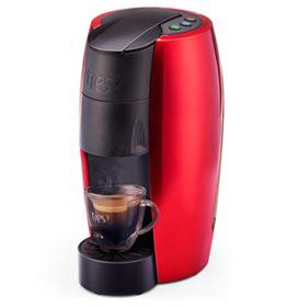 Cafeteira Três Lov Premium Vermelha para Café Espresso - 200389