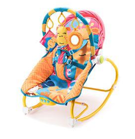 Cadeira de Balanço para Bebês 0 a 20 kg Girafa - Multikids Baby