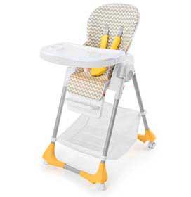 Cadeira Alta de Alimentação Gourmet Cinza - Multikids