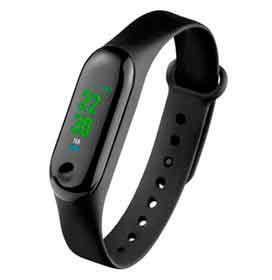 Smartwatch Tokio Atrio Preto com 0,96, Pulseira em Silicone, Bluetooth e 256 KB