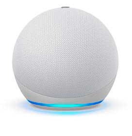 Echo Dot (4ª geração) Smart Speaker Amazon com Alexa Branca