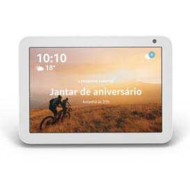 Smart Speaker Amazon com Alexa Branco - ECHO SHOW 8