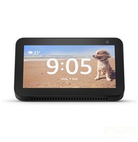 Smart Speaker Amazon com Tela 5.5 e Alexa Preto - ECHO SHOW 5