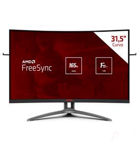 Monitor Gamer 31,5 AOC Agon Curved Widescreen com 300 milhões:1 max de Contraste - AG323FCXE