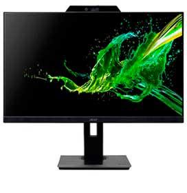 Monitor 21,5 Acer IPS , Webcam FHD e Mic, Ajuste de Altura, Rotação, Pivot, Zero Frame, 75Hz, Acer Comfyview - B227Q