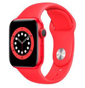 Apple Watch Series 6 Vermelho, 40mm, GPS, com Pulseira Esportiva Vermelha
