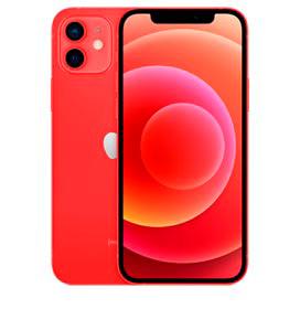iPhone 12 Vermelho, com Tela de 6,1, 5G, 256 GB e Câmera Dupla de 12MP Ultra-angular + 12MP Grande-angular - MGJJ3BZ/A