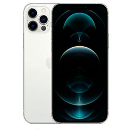 iPhone 12 Pro Prateado, com Tela de 6,1, 5G, 256 GB e Câmera Tripla de 12MP - MGMQ3BZ/A