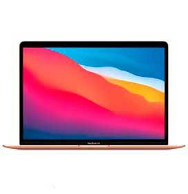 MacBook Air, Chip M1, 8GB, 256GB SSD, Tela de 13, Dourado - MGND3BZ/A