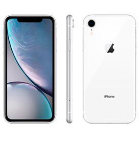 iPhone XR Branco, com Tela de 6,1, 4G, 128 GB e Câmera de 12 MP - MH7M3BR/A