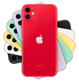 iPhone 11 Vermelho, com Tela de 6,1, 4G, 128 GB e Câmera de 12 MP - MHDK3BR/A