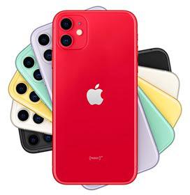 iPhone 11 Red, com Tela de 6,1, 4G, 256 GB e Câmera de 12 MP - MHDQ3BZ/A