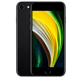 iPhone SE Preto, com Tela de 4,7, 4G, 256 GB e Câmera de 12 MP - MHGW3BR/A