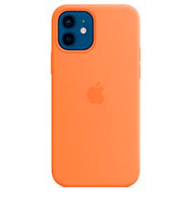 Capa para iPhone 12 e iPhone 12 Pro em Silicone Laranja Kinkan Vitamina C - Apple - MHKY3ZE/A
