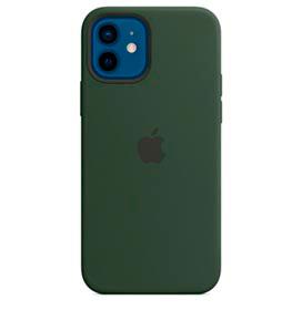 Capa para iPhone 12 e iPhone 12 Pro em Silicone Verde Chipre - Apple - MHL33ZEA