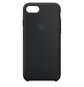 Capa para iPhone 7 e 8 de Silicone Preta - Apple - MMW82ZM/A