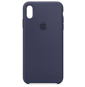 Capa Protetora para iPhone XS Max em Silicone Azul Meia Noite - Apple - MRWG2ZM