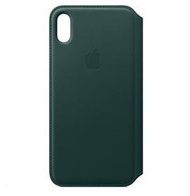 Capa para iPhone XS Max Folio de Couro Verde - Apple - MRX42ZM/A