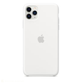 Capa para iPhone 11 Pro Max de Silicone Branco - Apple - MWYX2ZM/A
