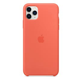 Capa para iPhone 11 Pro Max de Silicone Laranja - Apple - MX022ZM/A