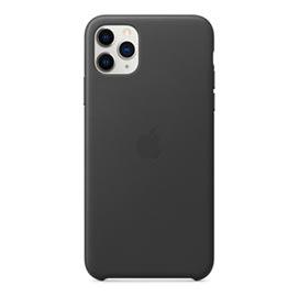 Capa para iPhone 11 Pro Max de Couro Preto Apple - MX0E2ZM/A