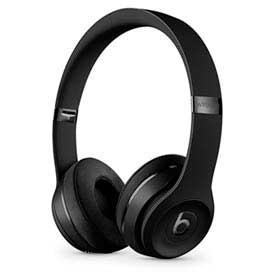 Fone de Ouvido Apple Beats Solo3 Wireless Headphone Preto Fosco - MX432LL/A