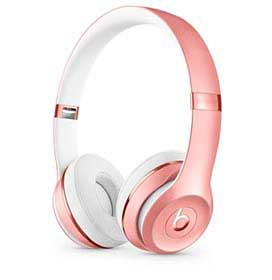 Fone de Ouvido Apple Beats Solo3 Wireless Headphone Ouro Rosa - MX442LL/A