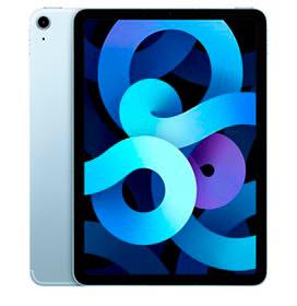 iPad Air 4° Geração Azul Céu com Tela de 10,9, 4G, 64 GB e Processador A14 Bionic - MYH02BZ/A