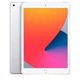 iPad 8° Geração Prateado com Tela de 10,2, 4G, 32 GB e Processador A12 Bionic - MYMJ2BZ/A