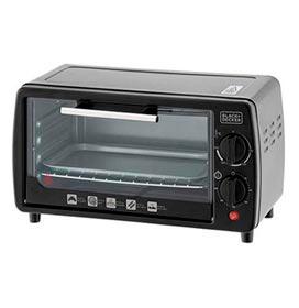 Forno Elétrico de Mesa Black & Decker Bake Chef Mini com 9 Litros de Capacidade, Grill Preto - FT9