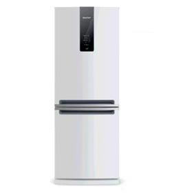 Refrigerador Inverse de 02 Portas Brastemp Frost Free com 443 Litros Turbo Ice Branco - BRE57AB
