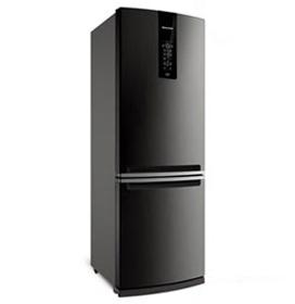 Refrigerador de 02 Portas Brastemp Frost Free com 460 Litros com Freezer Invertido Evox - BRE59AK