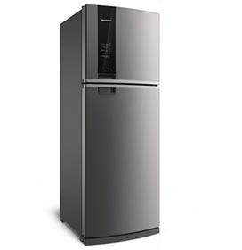 Refrigerador de 02 Portas Brastemp Frost Free com 462 Litros com Turbo Ice e Painel Eletrônico Evox - BRM56AK