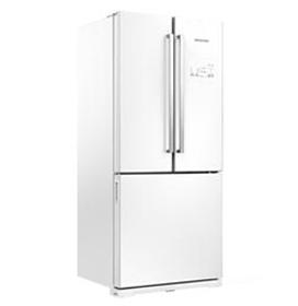 Side Inverse French Door de 03 Portas Frost Free Brastemp com 540 Litros Branco - GRO80AB