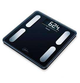 Balança Digital de Diagnóstico Beurer para até 200 kg - BF 400 Black