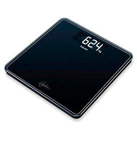 Balança Digital em Vidro Beurer para até 200 kg - GS 400 Black