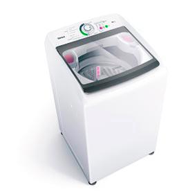 Lavadora de Roupas Consul 14Kg Branco com 04 Programas de Lavagem e Filtro Elimina Fiapos - CWH14AB