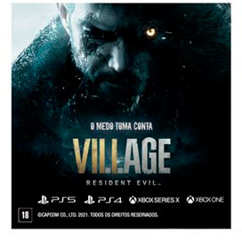 Jogo Resident Evil Village para PS5