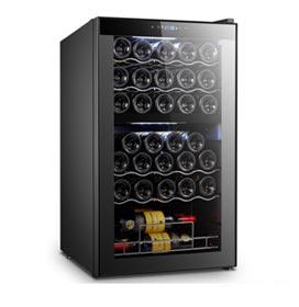 Adega de Vinhos Easycooler para 33 Garrafas, Dual Zone e até 18°C - 4092640