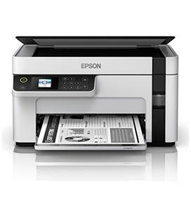Impressora Multifuncional Epson EcoTank Jato de Tinta com USB 2.0 e Wi-Fi - M2120