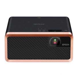 Projetor Epson 3LCD Laser Conexão HDMI, Bluetooth e USB Preto - EF-100