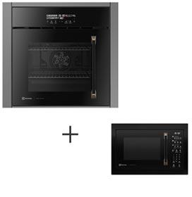 Forno Eletrico Electrolux Pro Series com Grill 220V OE9VT + Micro-ondas 34 Litros de Capacidade e Grill 110V - MV43T