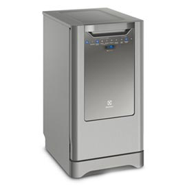 Lava-Louça Electrolux Inox com 10 Serviços, 06 Programas de Lavagem e Painel Blue Touch - LV10X