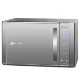 Micro-ondas Electrolux com 31 Litros de Capacidade e Grill Prata - ME41X