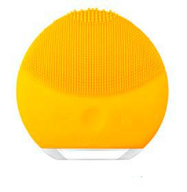 Escova de Limpeza Facial Luna Mini 2 Sunflower Yellow para Rosto e Pescoço - Foreo