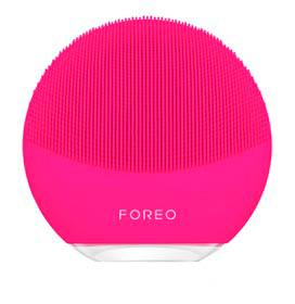 Escova de Limpeza Facial Luna Mini 3 Fuchsia para Rosto e Pescoço - Foreo