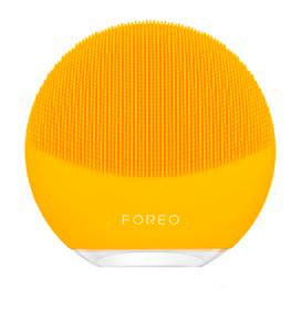 Escova de Limpeza Facial Luna Mini 3 Sunflower Yellow para Rosto e Pescoço - Foreo