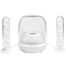 Sistema de Caixas de Som Bluetooth SoundStick4 Harmam Kardon Potência de 140W e Alto-falante 2.1 canais