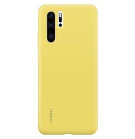 Capa Protetora para Huawei P30 Pro com Acabamento Soft Touch de Silicone Amarela - Huawei - HW-51992880