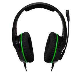 Headset HyperX CloudX Stinger Core Preto e Verde para PC e Xbox - HX-HSCSCX-BK